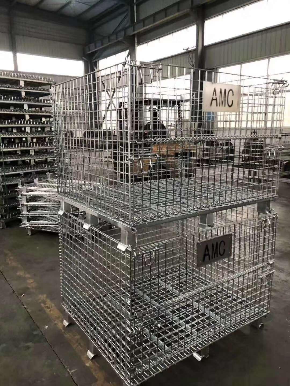 江西九江某电器机械设备公司非标定制仓储笼