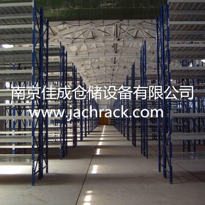 江苏镇江大型电气集团采购仓库车间货架项目交付