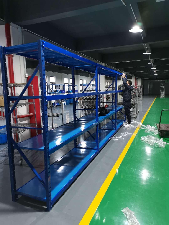 南京江宁禄口某大型高新企业次重货架